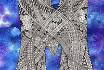 Zentangle Pattern M