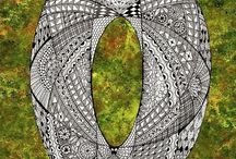 15 zentangle pattern O