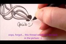 17. Zentangle pattern Q