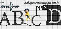 Cross stitch - alphabets / Výšivka - abeceda