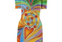 My Mandalas on clothes / You can buy my drawings - mandalas printed on clothes