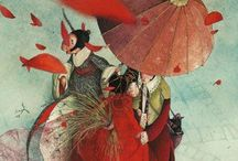 Inspiratie schilderen / by Alice VandeWerfhorst