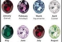 Birth Stones / Did you know all traditional birthstones have a history? Learn which birthstone correlates to your birth month.