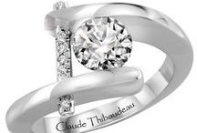 "Claude Thibaudeau / Claude Thibaudeau is truly dedicated to creating the finest quality of Platinum or 18 karat jewelry or, as he says, ""la creme de la creme""."