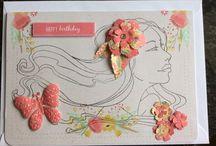 My Handmade Cards / Here are my handmade cards.