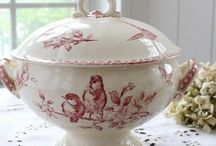Antique French Transferware