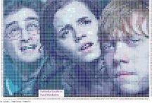 Cross stitch - HARRY POTTER / Vyšívání z filmů Harry Potter