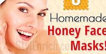 Best Homemade Face Masks / #HomemadeFaceMasks, when applied, give you unbelievably incredible results for your skin. So, I bring for you some amazing #DIYFaceMasks recipes. Use these handy face mask recipes to give yourself a natural and inexpensive facial at home.