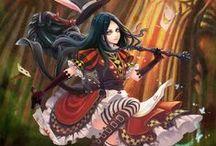 Alice in Wonderland / Art, concept, draw, videogame, design and more from Alice in Wonderland.