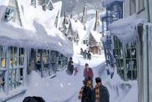 hp | hogsmeade | diagon alley
