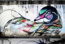 Street Art / Drawing, Painting, Graffiti and more over the streets of world