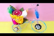 DIY Kids Craft Videos / Learn #DIYKidsCraft with the easy tutorial. Easy and cute Do It Yourself Crafts for kids can always help them to create some unique, handy and useful paper crafts.