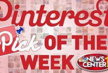 "NC1 Today: Pinterest Pick of the Week / NewsCenter1 Today needs your ""Pinspiration!"" Pin whatever you would like Eric and Elizabeth to do or make on their weekly segment, ""Pinterest Pick of the Week""  / by NewsCenter1"