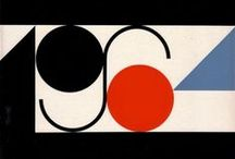 Vintage graphics / With an emphasis on shapes, colors, and the Swiss style.