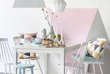 pastel / This look is romantic, poetic and curious, with misty shades adding a subtle veil of surprise to create a feminine effect. It is filled with soft, smoky tones of green and lilac.