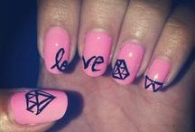 My nail art <3 / This are some nail models that I think are nice enoght for you 2 try :3 ! If you like my work suport me! ♥♥♥