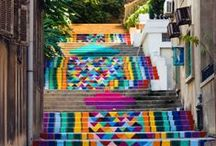 Street art / Street art and city décors