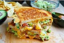 Grilled Cheese / All Things Grilled Cheese Sandwiches / by Tiah Lavespere