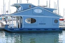 Houseboats and boats that are houses...mine! / by Foolish Mortal