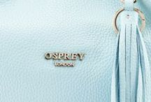 OSPREY LONDON - TRUE BLUE / From cobalt to navy, get set for blue sky thinking with gorgeous accessories