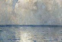 Emil Carlsen Clam Seas