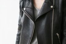 Style // Leather / cool leather looks