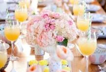 Morning After Wedding Brunch / The party doesn't stop here! Host a delicious and fun morning after wedding brunch.