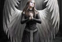Anioły.