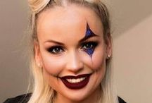 www.dreamteamstockholm.com haloween / Haloween and other party makeup or facepainting  Haloween och andra fester smink eller ansiktsmålningar