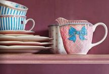 Crockery, Tea Cups and Delightful Tableware / by Heart Handmade UK Craft and Decor Blogger