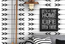 HOME DECOR AND DESIGN FILE / Slowly I am learning the art and skill of outfitting my home.