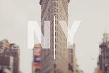 New York City | 100 Cities  / This board represents the essence of New York City.  / by Knok