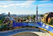Barcelona | 100 Cities  / A visual board inspired by the Catalan culture, architecture and street art of this enchanting Mediterranean destination / by Knok