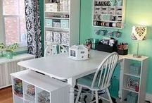 Craft Room / Office Ideas / by Cheryl Dean