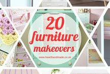 Favourite Furniture Ideas  / Inspiration for painting furniture, decoupage ideas and beautiful cabinets for the home. This is mostly a board to store my diy furniture ideas / by Heart Handmade UK Craft and Decor Blogger