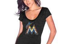 For Our Lady Fish Fans  / The newest Marlins women's merchandise and fashion for the 2013 season!