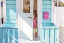 Beach Cottage / This board is full of images of my dream beach cottage exterior and beach cottage decor for that home I'm never going to own! Some dreamy beach cottage house plans & beach cottage interiors.
