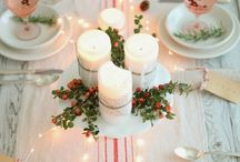 Scandinavian Christmas / Traditional red and white Christmas  / by Heart Handmade UK Craft and Decor Blogger