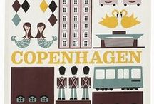 Copenhagen | 100 Cities  / A collage to share the interesting sites, culture, and people of this hip and trendy city. / by Knok