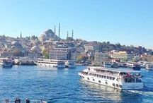 Istanbul | 100 Cities  / A city full of interesting sites. This mix of art, architecture, food, and people is a look inside this must-see destination. / by Knok