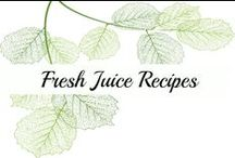 Fresh Juice Recipes / Juice Recipes | Healthy Juices | Fresh Juice Recipes