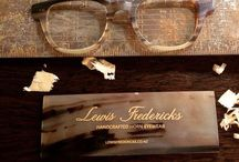 My displays / Lewis Ferdericks, la Eyeworks, Maui Jim..