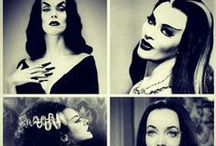 fade to grey / Cruella de Vil, Daphne Guinness, the Bride of Frankenstein , and other devilish divas.