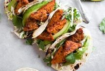 • • Taco Recipes  • • / An array of flavorful and wholesome taco recipes that are perfect for Taco Tuesday, weekend parties, or a quick weeknight dinner!