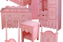 """Hand Painted Furniture /  collections of Exquisite Hand Painted Furniture for Children by """"Miss Tati and Friends"""""""