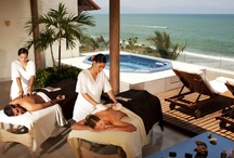 Relax in Paradise / Relax at the most luxurious all-inclusive resort in the Puerto Vallarta area! Enjoy the spectacular Mexican coast and unwind at our lavish spa!