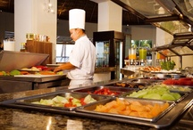 Delicious Food / Indulge at the finest restaurants at Grand Velas Riviera Nayarit! Dishes too pretty to eat!