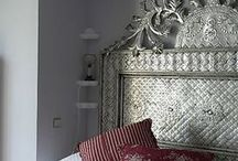 Headboard Inspiration / Make a statement with a headboard really adds style to your room