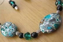 My handmade jewellery / Jewellery created by me... Many available to buy in my Folksy shop