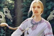 slavic || Clothes and jewelry